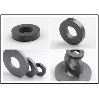 High Temp Ferrite Ring Magnet Cylindrical / Spherical Shape DC Motor Magnets Manufactures