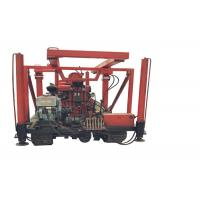 ST 300 Trailer Mounted Water Well Drilling Rig With Drill Hole 300mm Manufactures