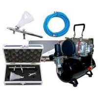 Low noise, 47db Professional Airbrush Tattoo Kit with 7cc Airbrush for women, kids Manufactures