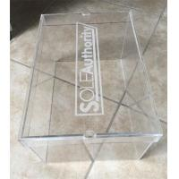 China Hot Selling Transparent Acrylic shoe box supplier on sale