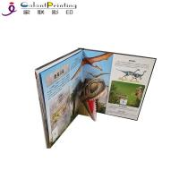 China Dinosaurs Children'S Pop Up Story Books  Educational Lift The Flap Books For Toddlers on sale