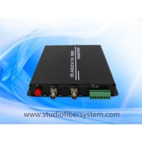 Cheap outdoor 720P 1080P HDTVI video fiber converter for CCTV surveillance system without delay,20KM Manufactures