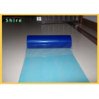 Printable Plastic Floor Protection Film For Hard Surface Protection PE Adhesive Manufactures