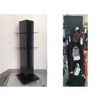 Buy cheap 3 Sides Metal Peg Board Floor Display Stands / Triangle Metal Peg Wall Display from wholesalers