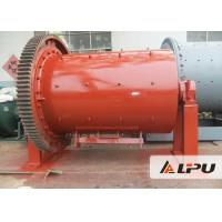Manganese Steel / Ceramic / Rubber Ball Mill Low Energy Consumption Manufactures