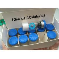 China Legal Human Growth Hormone Jintropin 10iu 10Vials Kit Injectable HGH Lyophilized Powder on sale
