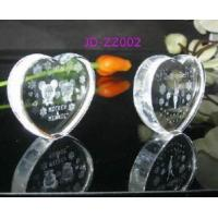 Crystal Heart Shape Paperweight Manufactures