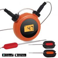 Heat Resistance Bluetooth Dual Probe Thermometer Mobile Operated 2 Probes Manufactures