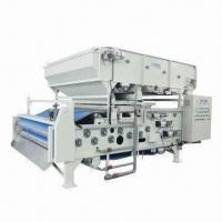 Auto Gravity Thickening Type Belt Filter Press with Low Energy Consumption Manufactures