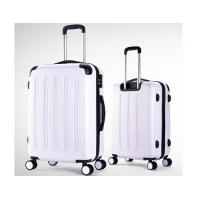 150D lining zipper frame ABS luggage set with PVC handle and 360 degree wheels Manufactures