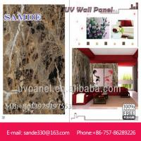 wall stone decoration with UV laque for interior wall deco 2440*1220*6/8/9mm