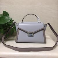 Michael Kors Whitney Grey Leather Ladies Bat Ear Bags Shoulder women's handbag Manufactures