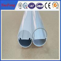 LED plastic diffuser shell lamp for lamp holder/LED Bulb housing/aluminum LED Profile Manufactures
