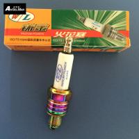 Ceramice Colorful Motorcycle Spark Plugs W / L U3AS / A7TC Nickel With Tip Electrode Manufactures