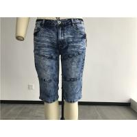 Fashion Mens Denim Jacket And Jeans Medium Wash Bermuda Jean Shorts TW81224 Manufactures