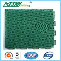Quality Floated Waterproof Badminton Interlocking Rubber Flooring For Tennis Court for sale