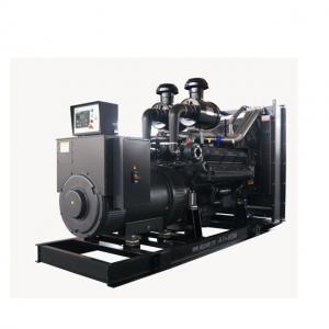 SDEC Shanghai Engine AC Generator Set 480KW / 600KVA 3500 * 1500 * 2100 mm Manufactures