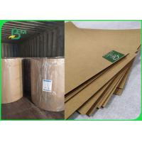 China 350gsm 400gsm Virgin Kraft Packaging Paper For Gift Box 65 * 86cm Sheet on sale