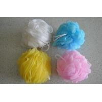 mesh Exfoliating Bath Sponge, shower Pouf from China Manufactures