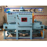 Uniform Surface Finishing Industrial Sandblaster Mini Triangle Conveyor Belt Type Manufactures