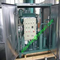 Single Stage Vacuum Transformer oil Purifier,oil filtration,insulation oil Regeneration Plant with CT Explosion-proof Manufactures