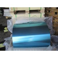 China Blue / Golden Epoxy Coated Aluminum Foil 0.18MM Width In Heat Exchanger on sale
