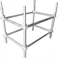 Φ50*T3 mm Galvanized Steel Lighting Truss Accessories Pillar For Background Truss Manufactures