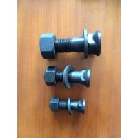China Black Oxygen Surface Track Bolts And Nuts 4F3650 Bulldozer Excavator Spare Parts on sale