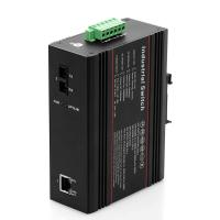 PoE and industrial type Ethernet switch 1 100M fiber port and 1 10 / 100M RJ45 port Manufactures