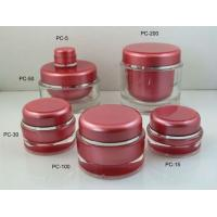 5g-200g Round Acrylic Bottles Jars Cosmetics Cream Jars Packaging Manufacturer Manufactures
