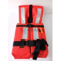 150N Offshore Marine Life Jacket SOLAS 74/96 CCS/MED With Reflective Tape Manufactures
