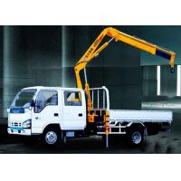 Durable Mobile Folding Truck Articulated Boom Crane , 3200kg Truck Mounted Crane Manufactures