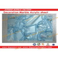 Marble Patterned PMMA Acrylic Sheet 12mm 15mm For Interior Wall Decoration Manufactures