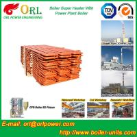 Fire Tube Boiler Superheater / Super Heaters For Petroleum Industry Manufactures