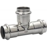 Sanitary Pipe Stainless Steel Press Fittings Stainless Steel Equal Tee Manufactures