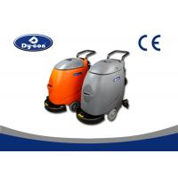 17 Inch Single Disc Corcrete Floor Scrubber Cleaner Machine Hand Push Medium Hardness Manufactures