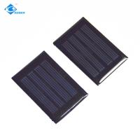 Quality Mini Solar Panels for portable solar charger ZW-3450 Silicon Solar PV Module for solar power watches for sale