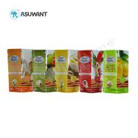 Custom Printed Food Packaging Bags 110-130 Mic Thickness Eco Friendly For Snack Manufactures