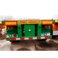 Quality 20ft 40 ft size fuwa axle skeletal container trailer - CIMC Vehicle for sale