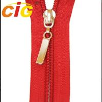 Customized Open End / Close End Metal Zippers For Garments Eco Friendly Manufactures
