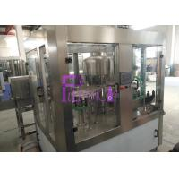 3 in 1 Mineral Water Filling Machine Fully Automatic For PET Bottle Manufactures