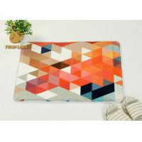 Professional Washable Area Rugs , Colorful Modern Rugs Nonwoven Technics