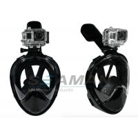 180 ° open view Full Face Free Breathing Snorkel Mask with Tubeless Prevent Gag Reflex Manufactures