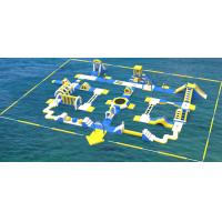 Giant Inflatable Water Park Equipment / Inflatable Sea Water Park For Adults And Kids Manufactures