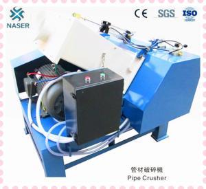 Naser Brand Pipe Crusher/crusher for plastic pipe/waste plastic pipe crusher Manufactures