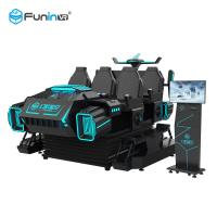 China 3.8KW 9D VR Simulator Interactive Virtual Reality Game Acarde Machine With SGS Test on sale
