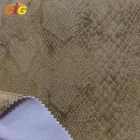 Embossed Suede Sofa Upholstery Fabric For Chairs / Cushions / Car Seat Manufactures