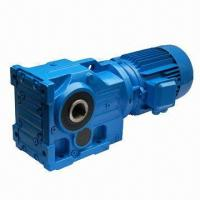 Buy cheap K Series Helical Bevel Gear Reducer, CE Standard from wholesalers