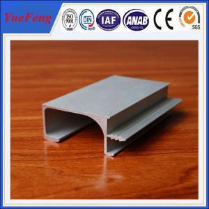 L shape industrial anodize aluminium profile, silver anodized aluminium extrusion angle Manufactures