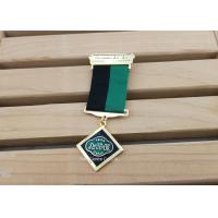 Hard Enamel Die Struck Custom Awards Medals For Army Hornor With Gold Plating Manufactures
